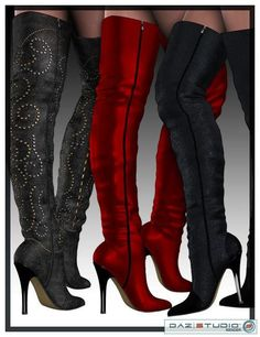 Sexy thigh high boots...