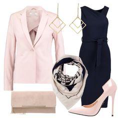 Outfit Il tubino blu