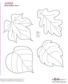 Felt Leaf Patterns | Theleaf.co