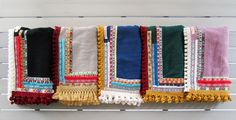"""Cleo Gatzeli summer tales Our """"ethnic"""" beachtowel collection"""