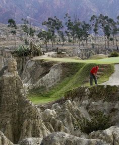 La Paz Golf Club, Bolivia #playgolf