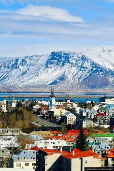 The stunning Reykjavik, Iceland