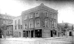 Middleton Arms pub 123 Queens Road, Dalston, Hackney open 1847 This pub was demolished in The later address after about 1938 is 303 Queensbridge Road 1910 now flats Vintage London, Old London, Tower Hamlets, East End London, Old Pub, Bethnal Green, London Street, Brewery, Old Photos