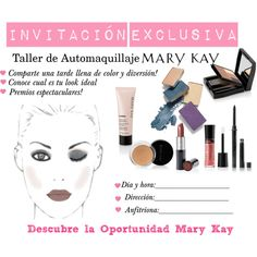 invitacion2 by lcabreramk on Polyvore featuring polyvore, beauty and Mary Kay