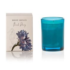 Rosy Rings Beach Daisy Candle