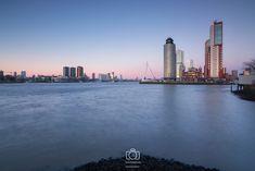 Cold sunset in Rotterdam by Ilya Korzelius