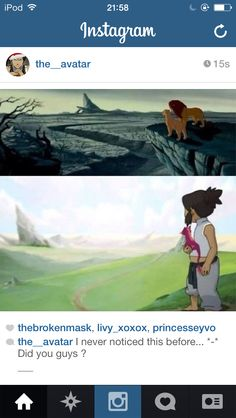 Avatar: the legend of Korra and The Lion King  Wow
