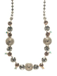 Glam Overload Necklace - Glamorous! in Snow Bunny - Sorrelli - The picture doesn't give this necklace justice. It is gorgeous and goes with everything.