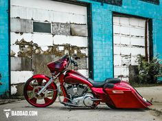 Bad Dad   Custom Bagger Parts for Your Bagger   Competition Series Fender & Bag Kit for 2014+ Rushmore Models