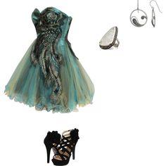Prom night, created by #dododo99 on #polyvore. #fashion #style Mojo Moxy Pamela Love