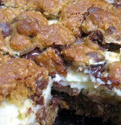 CREAM CHEESE COOKIE BARS RECIPES (easy CREAM CHEESE COOKIE BARS RECIPES) ...click image for the recipe!
