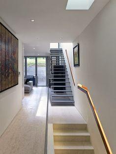 Escaleras on pinterest staircases stairs and search - Escaleras casas modernas ...