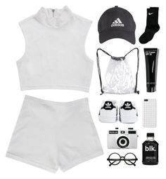 """and when the seasons change will you stand by me"" by somewhere-else ❤ liked on Polyvore featuring NIKE, adidas, CC, Retrò and Holga"