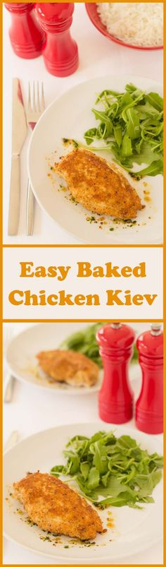 This easy baked chicken kiev recipe gives you delicious home-made chicken kievs that are so much healthier than shop bought ones. Ready in just over an hour you'll never know the difference and your waistline will thank you too.