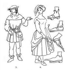 Výsledek obrázku pro gotický sloh oblékání