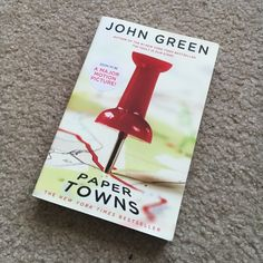 Paper Towns by John Green Another great book written by the legendary John Green! You'll love the book, while I read it I couldn't take my eyes off of it! Barnes & Nobles Other
