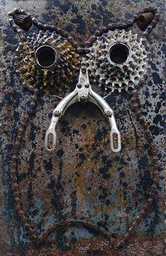 Owl Bicycle Art