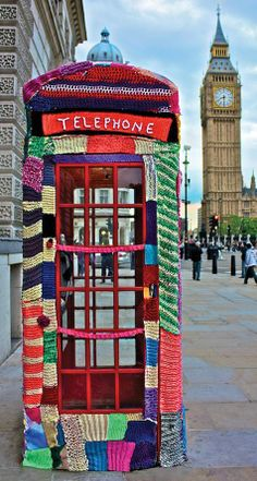 23 Beautiful Photos of Yarn Bombing from Around the World! 9 - https://www.facebook.com/different.solutions.page