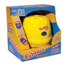 Amazon.com: Little Kids Fubbles No-Spill Bubble Machine, Yellow: Toys & Games