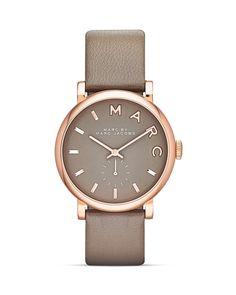 MARC BY MARC JACOBS Baker Strap Watch, 36.5mm | Bloomingdale's i like the color combo