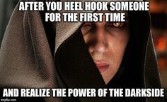 hehe... or when you sweep someone's leg out from under them