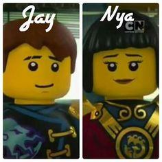 Jay and Nya