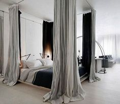 The bedroom is, without any doubt, the ideal place for curtains. It's why there are so many variations to choose from in terms of design.…