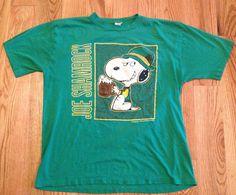 Vintage Snoopy Joe Shamrock T-shirt - St. Patrick's Day