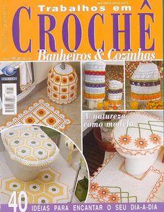 Revista - Trabalhos em Croche banheiro e cozinha N 26 - Lita Zeta - Álbuns da web do Picasa