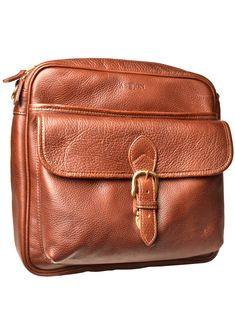 1c11c9fc6f8f The American cowhide leather Oakfield Messenger Bag has a removable and  detachable shoulder strap.