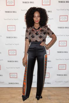 {Grow Lust Worthy Hair FASTER Naturally}>>> www.HairTriggerr.com <<<      Solange is Rocking This Whole Outfit from Head to Toe!!!  Love It!!