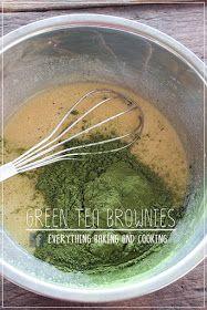 ~ Everything Baking and Cooking ~: White Chocolate Green Tea Brownies / กรีนนี่ (บราวนี่) ชาเขียวไวท์ช็อกโกแลต Toffee Cake, Matcha, Love Food, Brownies, Bakery, Tea, Cooking, Green, Desserts