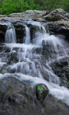 Little Missouri Falls, Albert Pike Recreational Area, Ouachita National Forest, Arkansas