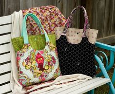 Same tote bag, different colors!