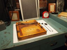Edward Weston's print frame and dodging wands Alternative Photography, Edward Weston, Wands, Framed Prints, Magic, Film, Dark, Box, Fotografia