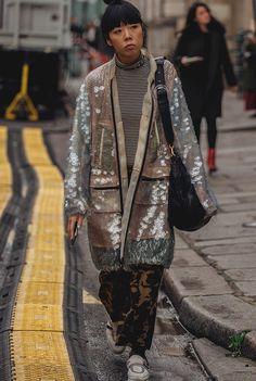 Уличный стиль: фото с Неделе высокой моды в Париже. Часть 2   Мода   STREETSTYLE   VOGUE
