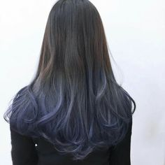 Get it or nah Hair Color Streaks, Hair Color Purple, Cool Hair Color, Hair Highlights, Ash Blue Hair, Aesthetic Hair, Dye My Hair, Hair Inspiration, Curly Hair Styles