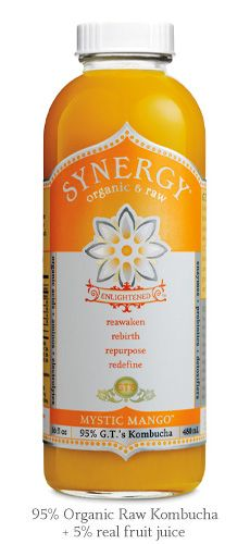 My favorite flavor of Synergy Organic Raw Kombucha is Mystic Mango.  Delicious, healthful & refreshing.  I have one every week.