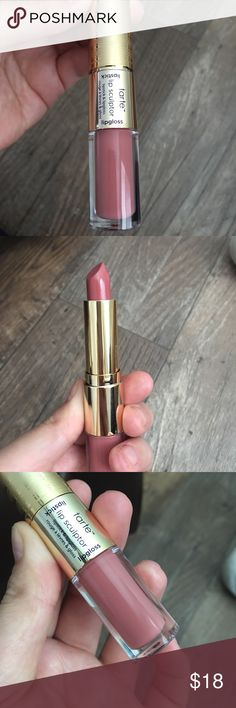 """Tarte Lip Sculptor Duo Lipstick/Lipgloss New never used. Color is """"King"""" tarte Makeup Lipstick"""