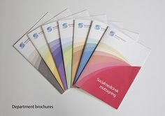 Brand identity for Skyddsvärnet in Gothenburg – Broschures