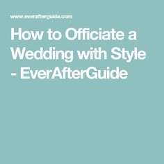 How to Officiate a Wedding with Style - EverAfterGuide Non Religious Wedding Ceremony, Wedding Ceremony Script, Wedding Ceremonies, Wedding Mc, Wedding Poems, Wedding Stuff, Sister Wedding Speeches, Wedding Officiant Script, Bridal Shower Questions