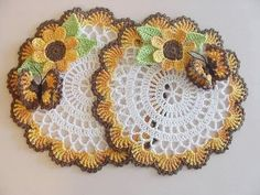 Crochet Sampler Afghan Pattern, Free Crochet Doily Patterns, Filet Crochet Charts, Beading Patterns Free, Crochet Motif, Crochet Doilies, Crochet Flowers, Fabric Flowers, Thanksgiving Crochet