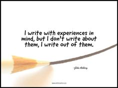 Quotable – John Ashbery - Writers Write