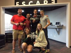 Dr. Andrews was foiled by this group in The Facility in 55 minutes!