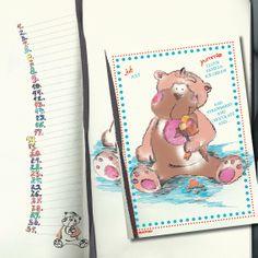Das kleine Äffchen, Geburtstagskalender. Kalender ohne Jahreszahl und Tagesangabe, wiederverwendbar, Format 20x20, Juli