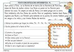 Un nuevo paquete de actividades de comprensión lecctora para añadir a los cientos ya compartidos para trabajar contextos cortos. Este motivador cuadernillo de 6 páginas