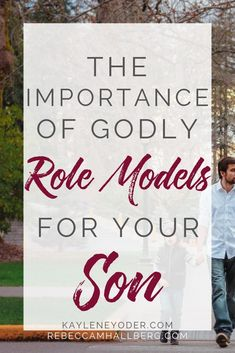 Don't underestimate the power of godly role models in your son's life. These parenting tips will help you see the value of surrounding your son with Christian role models to help him form godly character and become a man who loves God. || Kayelen Yoder #rolemodels #parenting #christianparenting #parentingtips #kayleneyoder Christian Kids, Christian Families, Parenting Articles, Parenting Tips, Mom Devotional, Family Scripture, Bible Study For Kids, God Will Provide, Strong Family
