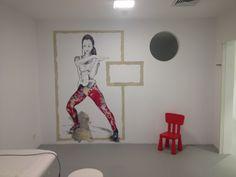 Gesundheitszentrum #Storch&Beller Freiburg | Architektur und Design Ingrid Maria Buron de Preser Wandzeichnungen Gaby Roter#