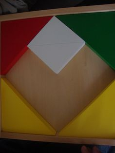 Tangram heart made by my daughter
