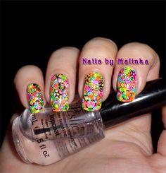 Nails by Malinka: Pueen Encore SE04B, Dance Legend Top Aquarelle